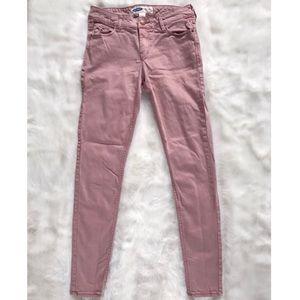 Old Navy Blush Rose Pink Super Skinny Jeans 2